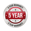 Optional 5 Year Warranty