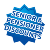 Senior and Pensioner Discounts