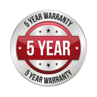 5 year optional warranty