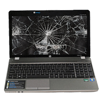 Broken Laptop Screens